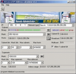 IP Subnet Calculator 3.2.1