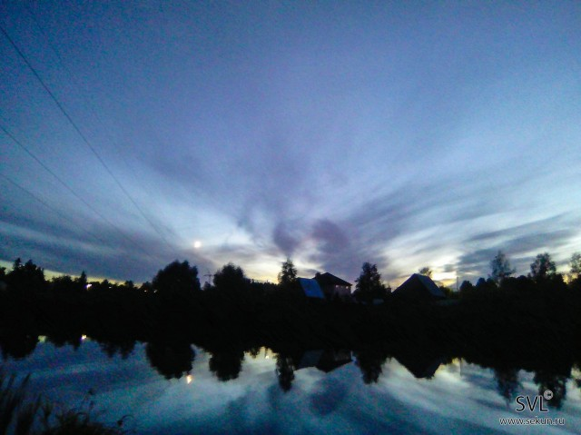 сентябрьский закат