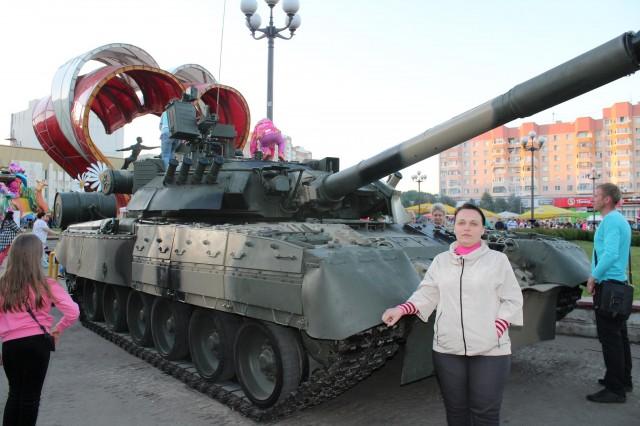 Мама у танка