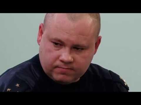Допрос инспектора Ряднова  'Вы совсем оборзе́ли'