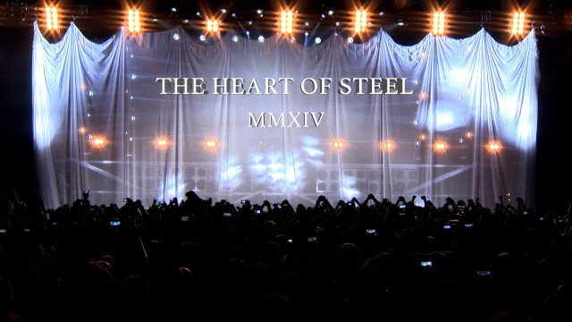 MANOWAR - The Heart of Steel MMXIV - OFFICIAL VIDEO